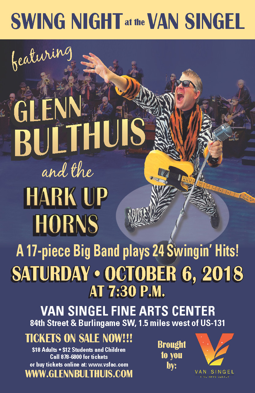 Glenn Bulthuis and the Hark Up Horns