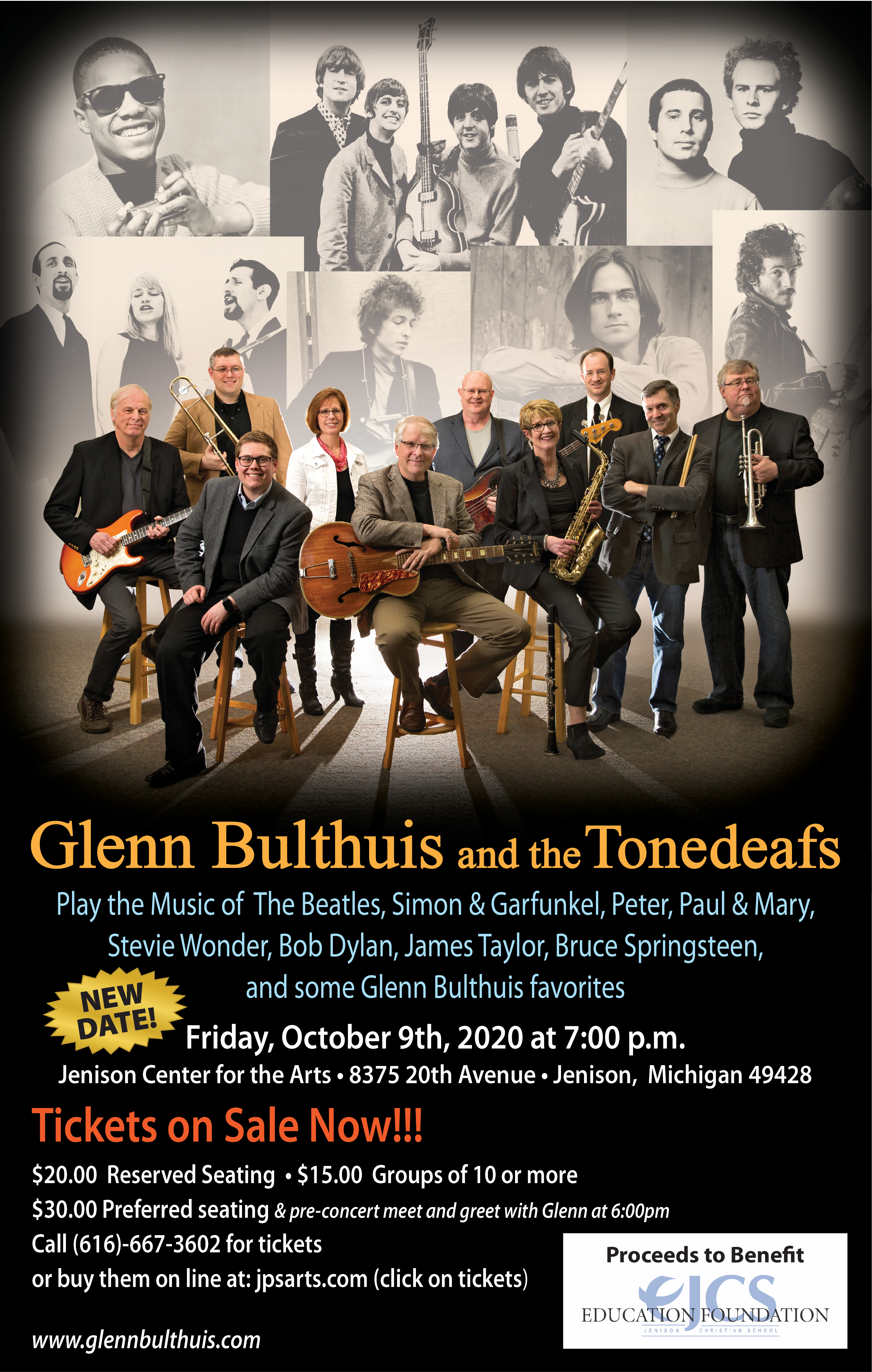 Glenn Bulthuis and the Tonedeafs